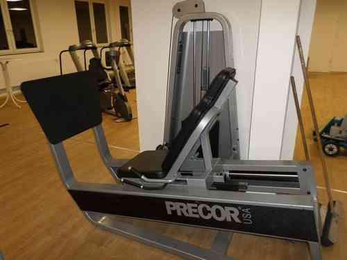 beinpresse precor leg press maxx fitnessger te. Black Bedroom Furniture Sets. Home Design Ideas