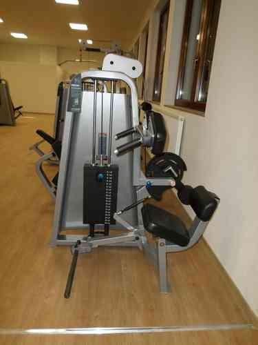 precor abdominal machine